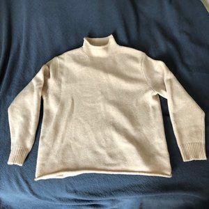 Oversize wool sweater, vintage J. Crew